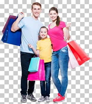 Shopping Stock Photography Family Retail PNG