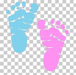 Diaper Infant Footprint Child PNG