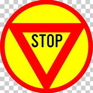 Emoji Stop Sign Black And White PNG