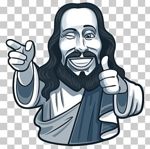 Jesus Sticker Ichthys Telegram Bot API PNG