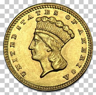 Gold Coin Stella Florin PNG
