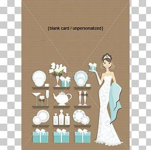 Wedding Invitation Bridal Shower Party Bride PNG