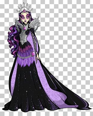 Queen Of Hearts Ever After High Character PNG