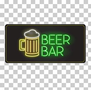 Beer Light Cafe Coffee Neon Sign PNG