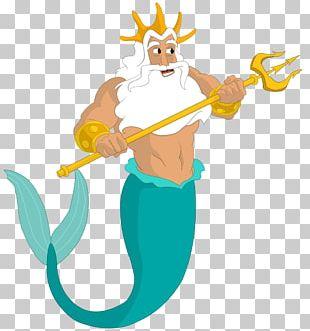 King Triton Ariel The Little Mermaid Poseidon PNG