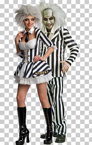 Beetlejuice Costume Party Halloween Costume Party City PNG