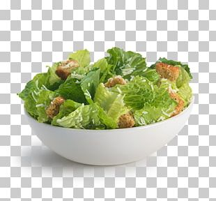 Caesar Salad Romaine Lettuce French Fries Hamburger Salad Dressing PNG