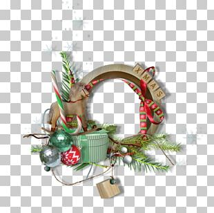 Christmas Ornament Frames Santa Claus Christmas Decoration PNG