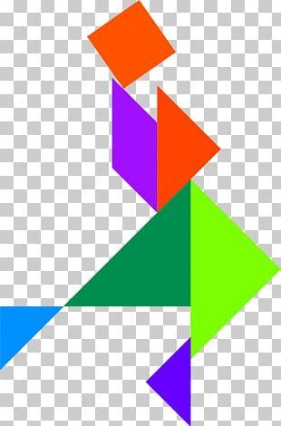 Tangram Puzzle Windows Metafile PNG
