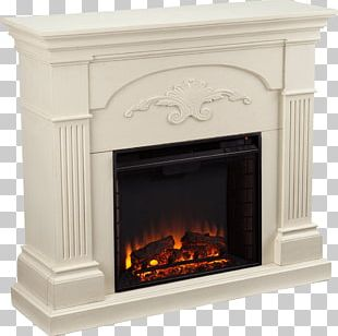 Electric Fireplace Furniture Fireplace Mantel Heater PNG
