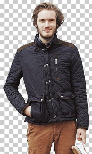PewDiePie Shearling Flight Jacket Fur Clothing PNG