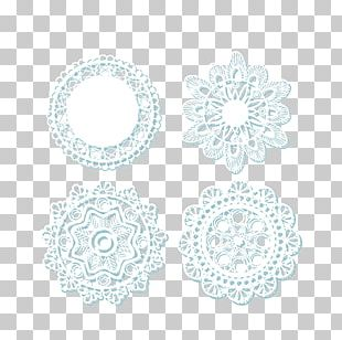 Lace Doily White Pattern PNG