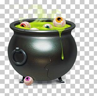ICO Halloween Cauldron Icon PNG