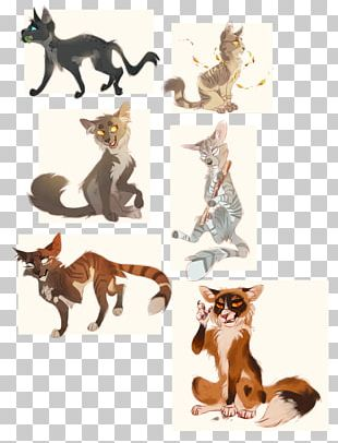 Popular Cat Names Warriors Kitten Drawing PNG