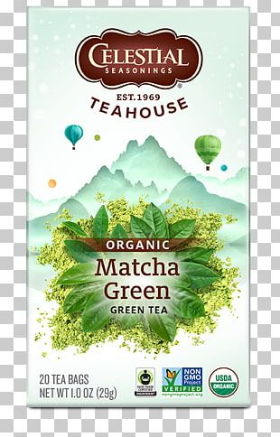 Matcha Green Tea Masala Chai Celestial Seasonings PNG
