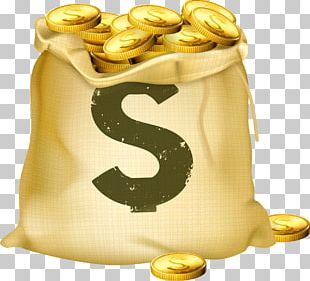 Money Bag Stock Photography Gold Coin PNG