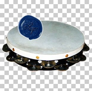 Tom-Toms Cobalt Blue Tambourine Tamburello PNG