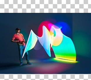 Light Painting Photography Kaleidoscope PNG