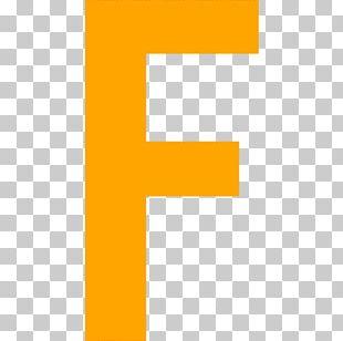 F Letter Computer Icons Orange Alphabet PNG