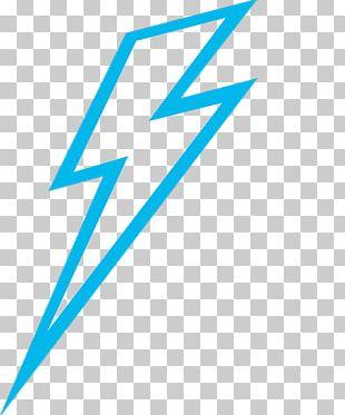 Lightning Blue PNG