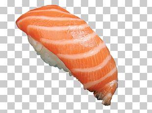 Lox Sushi Smoked Salmon Sashimi Onigiri PNG