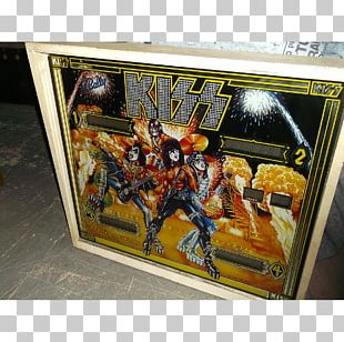 Kiss Absolute Pinball & Amusements Crown Jewels Of The United Kingdom Action & Toy Figures PNG