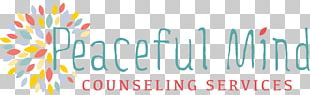 Psychotherapist Therapy Logo Counseling Psychology Mental Health Counselor PNG