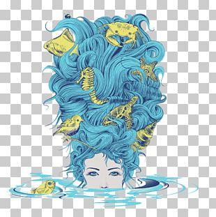 Ariel Mermaid Art Drawing Painting PNG