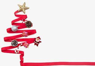 Christmas Red Ribbon PNG