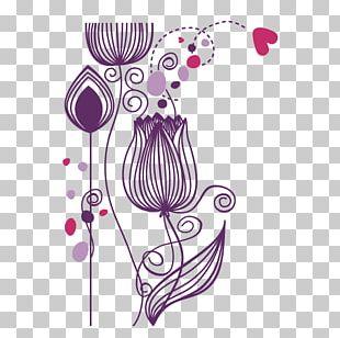 Floral Design Decorative Arts Sticker Phonograph Record Flower PNG
