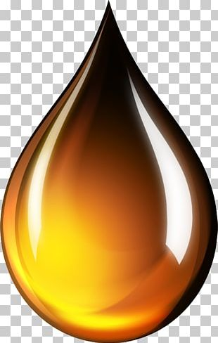 Golden Sun Olive Oil Drop PNG