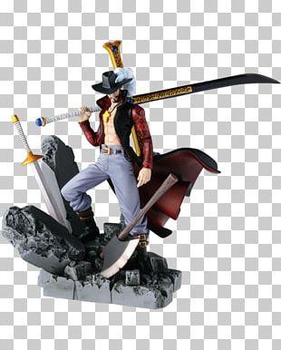 Dracule Mihawk Figurine Monkey D. Luffy One Piece Banpresto PNG