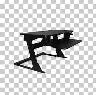 Standing Desk Sit-stand Desk Sitting PNG