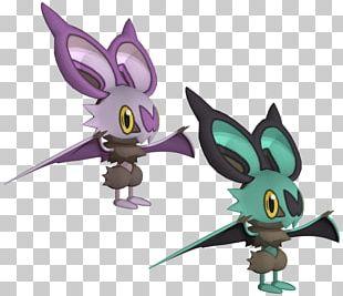 Noibat Pokémon 3D Modeling Eevee PNG