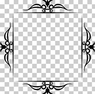 Borders And Frames Line Art Visual Arts PNG