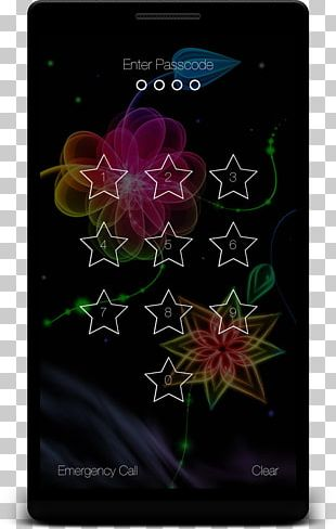 Desktop IPhone 6 Plus Colorful Flower Android PNG