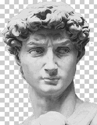 Michelangelo David Marble Sculpture Art PNG