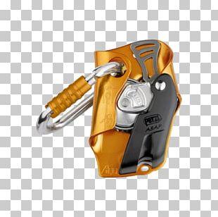 Fall Arrest Petzl Carabiner Lanyard Rock-climbing Equipment PNG