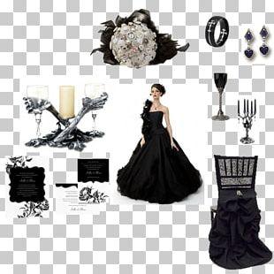 Gown Costume Design Little Black Dress PNG