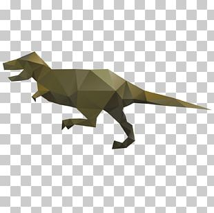 Tyrannosaurus Spinosaurus Origami Dinosaurs PNG