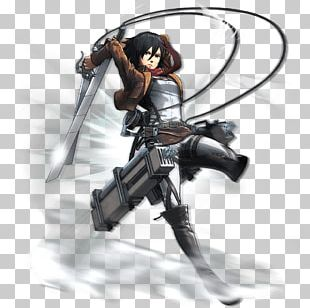 A.O.T.: Wings Of Freedom Mikasa Ackerman Eren Yeager Attack On Titan Art PNG