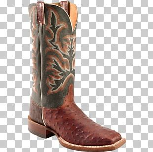 Common Ostrich Cowboy Boot Footwear Justin Boots PNG
