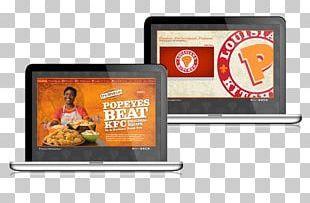 Display Advertising Brand AFC Enterprises Popeyes PNG