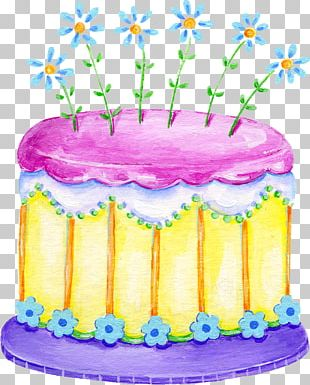 Birthday Cake Frosting & Icing Torte PNG
