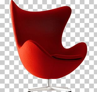 Armchair Red Modern PNG