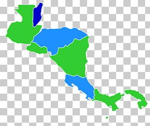 Central America United States Map PNG
