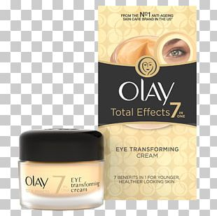 Olay Total Effects 7-in-1 Anti-Aging Daily Face Moisturizer Olay Total Effects Eye Transforming Cream Anti-aging Cream PNG