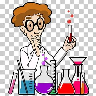 Laboratory Cartoon Scientist PNG