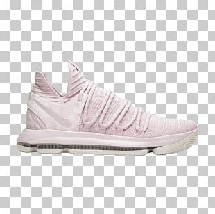 Sports Shoes Nike KD 10 Aunt Pearl Basketball Shoe PNG