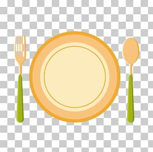Fork Spoon Plate PNG